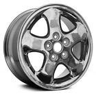 For Saturn L300 03 05 16 Remanufactured 5 Spokes Chrome Factory Alloy Wheel