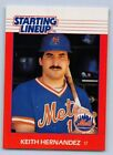 1988  KEITH HERNANDEZ - Kenner Starting Lineup Card - NEW YORK METS