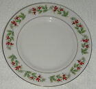 GIBSON CHRISTMAS CHARM  RIMMED SOUP BOWL