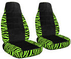 Zebra Seat Covers With A Black Center 2009 To 2017 Toyota Corolla Abf