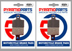 Polini XP4 Street 50 Full Set Front & Rear Brake Pads (2 Pairs)