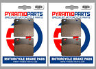 Suzuki VS1400 Intruder 87-03 Full Set Front & Rear Brake Pads (2 Pairs)