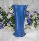 Fiesta Ware MEDIUM LAPIS FLAIRED VASE NEW MADE IN USA 9 ½ INCHES TALL