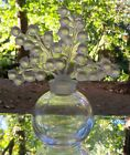 Lalique Crystal Clairfontaine Perfume Bottle with Lily of the Valley Stopper