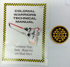 Battlestar Galactica Colonial Warrior Technical Manual 136 Pages UNREAD FREE S