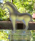 Lalique Crystal Tang Horse Figurine Paperweight Item #11816  France Mint W Label