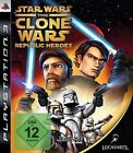 Playstaation 3 Star Wars CLONE WARS REPUBLIC HEROES Neuwertig