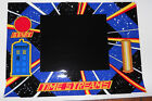 DR. WHO PINBALL MACHINE FRONT CABINET COINDOOR DECAL!*SUPER RARE!*