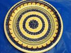 BOLESLAWIEC plate HAND MADE in POLAND CHARMING hand crafted item