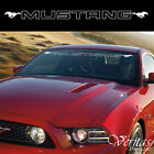 Mustang Windshield Banner Sticker Decal Vinyl Luxury Ford Window Graphic Custom