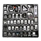 42PCS Domestic Sewing Machine Foot Presser Feet Set For Brother Singer Janome V