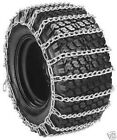 Set of 2 OPD tire chains 23x9.50-12 23x9.50x12 21X11-8  2-link