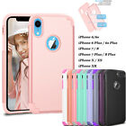 Luxury Ultra Thin Shockproof Bumper Hard Case Cover For Apple iPhone 8 6S 7 Plus