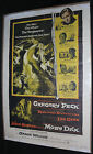 Moby Dick Movie Poster Gregory Peck John Huston C 4 C 5 1956