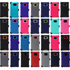 For Samsung Galaxy Note 5 Rugged Defender Shockproof Case Clip Fits Otterbox