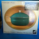 Genuine Fiesta Accessories Metal Enamel JUNIPER Dutch Oven with Lid NIB