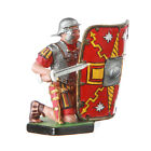Tin Toy Soldier Roman Legionary defending figurine 54mm hand painted #18.11
