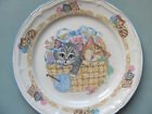 TIENSHAN STONEWARE PURRFECT FRIENDS DINNER PLATE