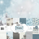 KaiserCraft Frosted12x12 Christmas Paper Pack