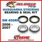 22-1032 Husqvarna SM450RR SM 450RR 2006-07 Steering Head Stem Bearing & Seal Kit