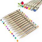 Lot of 12 Colors Art Markers Manga Fine Head Sketch Drawing Pen Painting