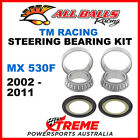 22-1010 TM Racing MX530F MX 530F 2002-2011 Steering Head Stem Bearing
