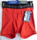 Jockey Sport COTTON PERFORMANCE Men's Boxer Brief Size Small - Color Red  -630