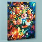 Leonid Afremov Colorful Giclee Magic Bouquet Flowers Price Reduced