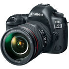 Canon EOS 5D Mark IV DSLR Camera with 24 105mm f 4L II Lens