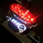 Motorcycle SMOKE Brake Tail Light Turn Signal License Plate Holder Cafe Racer AT