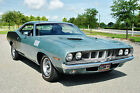 1971 Plymouth Barracuda Coupe 1971 Plymouth Cuda Numbers Matching 383 V8 Big Block Engine Factory Air