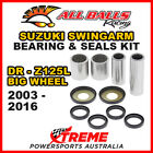 All Balls 28-1121 Suzuki DR-Z 125L Big Wheel 2003-2016 Swingarm Bearing Kit
