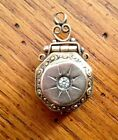 Gold Filled Victorian Watch Fob Charm Pendant Locket ***Very Nice***