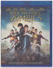 PRIDE PREJUDICE AND ZOMBIES Blu ray Disc 2016 Includes Digital Copy NEW
