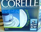 New In Box Corelle Country Cottage Service for 4   Corning Dinnerware Set