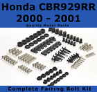 Complete Fairing Bolt Kit body screws for Honda CBR 929 RR 2000 - 2001 Stainless