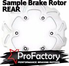 Suzuki Dr-z250 Dr250 Drz 250 Rear Brake Rotor Disc Pro Factory Braking New