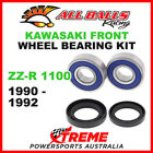 All Balls 25-1253 Kawasaki ZZ-R1100 ZZR1100 1990-1992 Front Wheel Bearing Kit