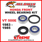 25-1312 Honda VT500E VT 500E 1983-1985 Front Wheel Bearing Kit