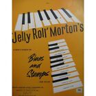 MORTON Jelly Roll Blues and Stomps Piano   Partition Sheet Music Spartiti Partit
