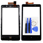 Front Touch Screen Digitizer with Frame outer Glass Panel For Nokia Lumia 820