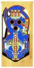 BALLY CAPTAIN FANTASTIC Pinball Machine Playfield Overlay