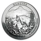 2011 Glacier 5 oz Silver America The Beautiful ATB Coin in Capsule