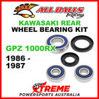 All Balls 25-1285 Kawasaki GPZ1000RX GPZ 1000RX 1986-1987 Rear Wheel Bearing Kit