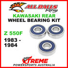 25-1327 Kawasaki Z550F Z 550F 1983-1984 Rear Wheel Bearing Kit