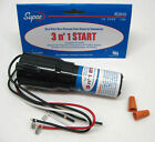 SUPCO RCO410 Start Kit 3 N 1 Relay Overload Start Capacitor 1/4 to 1/3 HP 120V