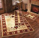 Hearts Stars  Berries Accent Runner Area Rug Country Rustic Primitive Decor