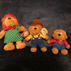 1998 BERENSTAIN BEARS PAPA  BROTHER  APPLAUSE MAMA WINTER MAGIC