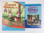 Abeka Primary Bible Reader and Aesops Fables