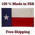 3x5 State of Texas Flag 3x5 MADE IN USA Knitted 100D Polyester Fabric